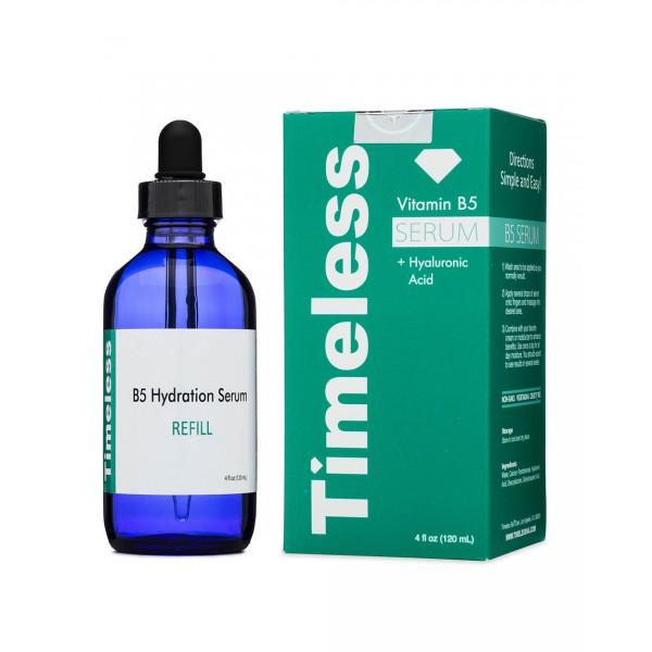 Сыворотка с гиалуроновой кислотой и витамином B5 Timeless, VITAMIN B5, 120 мл картинка