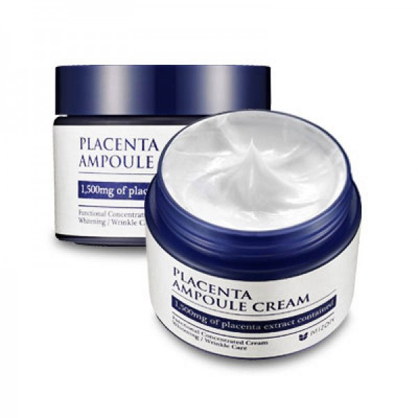 Плацентарный крем для лица Mizon Placenta Ampoule Cream каринка