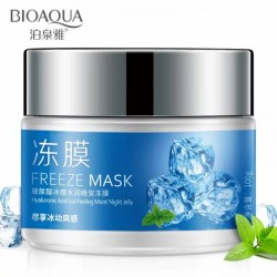 Маска для лица с экстрактом мяты bioaqua freeze mask