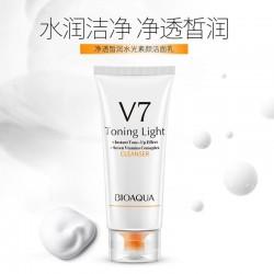 Пенка для умывания BIOAQUA V7 Toning Light