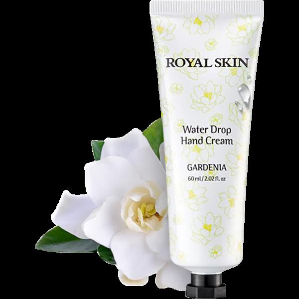 Увлажняющий крем для кожи рук ROYAL SKIN Water Drop Hand Cream Gardenia 60ml картинка
