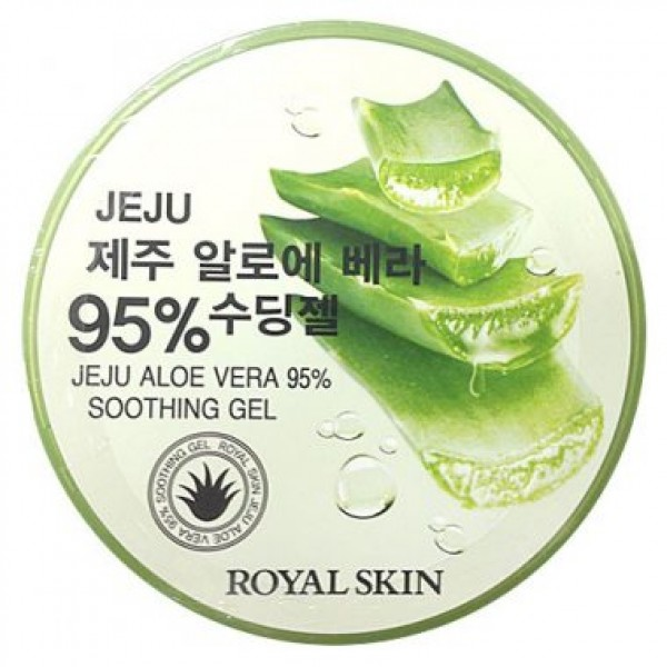 Гель с алоэ ROAYL SKIN JEJU ALOE VERA 95% SOOTHING GEL 300ml картинка