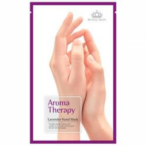 Лавандовая маска для рук ROYAL SKIN Aromatherapy lavender hand mask картинка