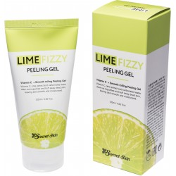 Пилинг-скатка с экстрактом лайма и витамином С Secret Skin Lime Fizzy Peeling Gel
